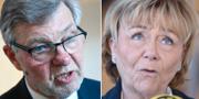 Björn von Sydow (S)/Beatrice Ask (M) från Försvarsberedningen. TT