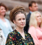 Kulturminister Amanda Lind (MP). Christine Olsson/TT / TT NYHETSBYRÅN