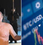 Putin isbadar. Kryptovaluta. TT / Reuters