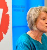 Ulla Andersson. Jessica Gow/TT / TT NYHETSBYRÅN