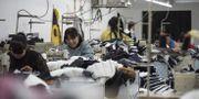 Textilfabrik i Hebei-provinsen FRED DUFOUR / AFP