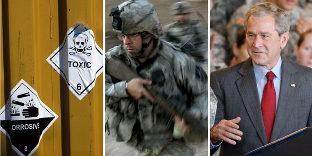 Val forst nar usa lamnat styret i irak
