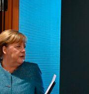 Tysklands förbundskansler Angela Merkel Tobias Schwarz / TT NYHETSBYRÅN