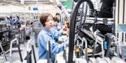 Illustrationsbild från Ericssons fabrik i Kina.  Magnus Hjalmarson Neideman/SvD/TT / TT NYHETSBYRÅN