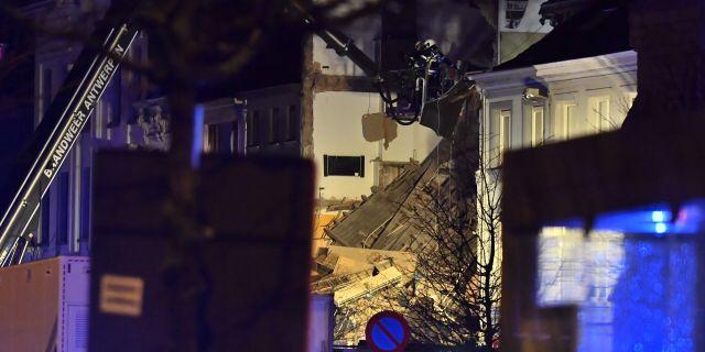 Manga skadade efter explosion i van i turkiet