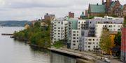 Nybyggnation vid Saltsjökvarn i Nacka i Stockholm. Hasse Holmberg