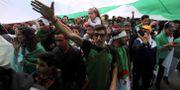 De stora demonstrationerna i Algeriet har fortsatt även sedan president Bouteflika avgick. RAMZI BOUDINA / TT NYHETSBYRÅN