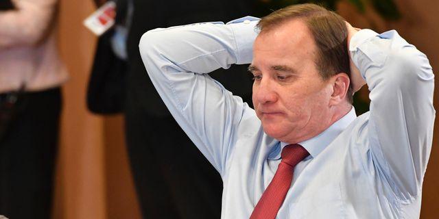 Stefan Löfven.  Geert Vanden Wijngaert / TT NYHETSBYRÅN