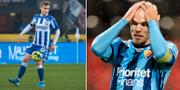 IFK:s Victor Wernersson och Djurgårdens Marcus Danielson.  Bildbyrån