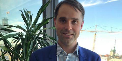 Michael Witting, skatteansvarig på Telenor. press