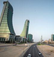 Arkivbild: Finanskvarteren i Bahrains huvudstad Manama Hamad I Mohammed / TT NYHETSBYRÅN