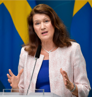 Mikael Damberg (S) och utrikesminister Ann Linde (S) TT