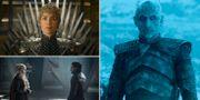 Cersei Lannister, Daenerys Targaryen, Jon Snow och Night King. TT