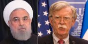 Hassan Rouhani / John Bolton.  TT