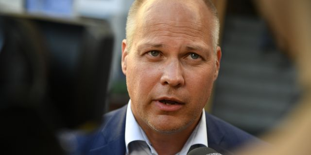 Justitieminister Morgan Johansson (S). Vilhelm Stokstad/TT / TT NYHETSBYRÅN