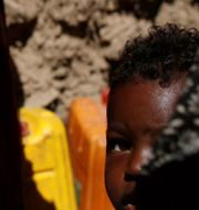 En pojke i Sanaa i Jemen.  KHALED ABDULLAH / TT NYHETSBYRÅN