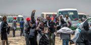 Anhöriga efter flygkraschen i Etiopien.  Mulugeta Ayene / TT NYHETSBYRÅN
