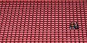 Liverpools hemmaarena Anfield lång tid innan avspark. Arkiv. TT