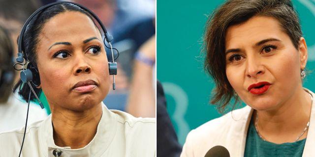 Arkivbilder: Alice Bah Kuhnke (vänster), Abir Al-Sahlani (vänster) TT