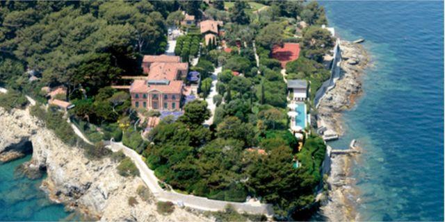 Villa Les Cedres i Saint Jean Cap Ferrat utanför Nice. Wikicommons