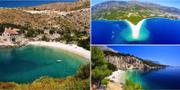 Hvar, Brac och Makarska är tre badfavoriter i Kroatien. Istock