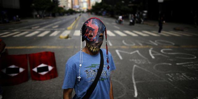 Demonstrant i Venezuela. TT