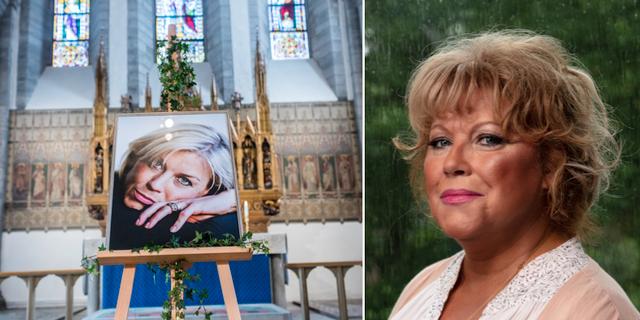 Josefin Nilssons begravning i Visby domkyrka 2016 / Marie Nilsson Lind TT/SR