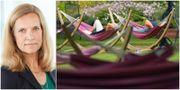 Arkivbild: Ingrid Albinsson, vice vd och kapitalförvaltningschef på Sjunde AP-fonden.  TT