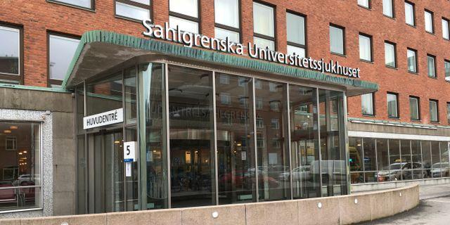 Sahlgrenska universitetssjukhuset. Arkivbild. Jonas Dagson/TT / TT NYHETSBYRÅN