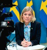 Finansminister Magdalena Andersson (S).  Fredrik Sandberg/TT / TT NYHETSBYRÅN