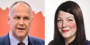 Jonas Sjöstedt och Ana Süssner Rubin TT/Vänsterpartiet