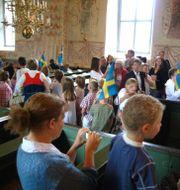 Skolavslutning i en kyrka. Arkivbild. MONS BRUNIUS / TT NYHETSBYRÅN