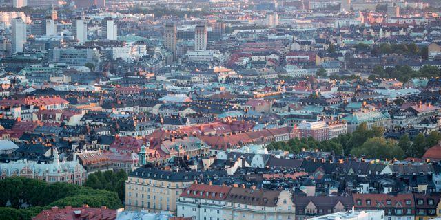 Andrahandshyrorna i Stockholms innerstad har slagit i taket. Christine Olsson/TT / TT NYHETSBYRÅN