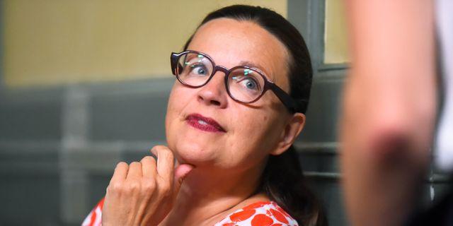 Utbildningsminister Anna Ekström (S) Hanna Franzén/TT / TT NYHETSBYRÅN