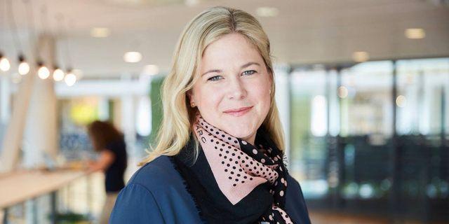 Hanna Bocander (M), kommunstyrelsens ordförande i Danderyd. Joakim Kröger/Moderaterna
