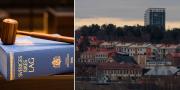 En lagbok och v över Östersund.  TT