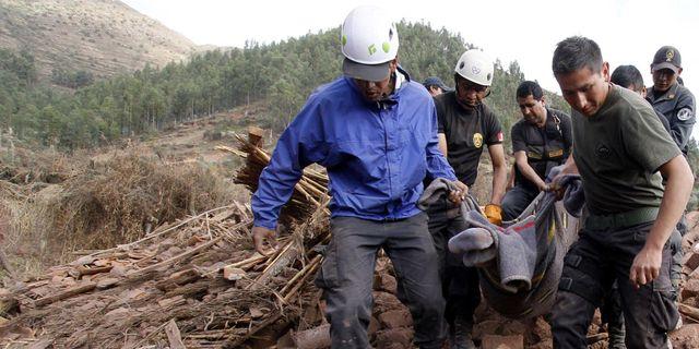 13 doda i jordbavning
