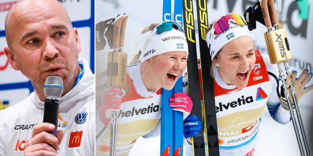 Lars Selin/Maja Dahlqvist och Stina Nilsson TT