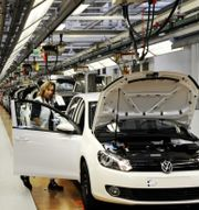 Arkivbild: VW:s fabrik i Wolfsburg.  David Hecker / TT NYHETSBYRÅN