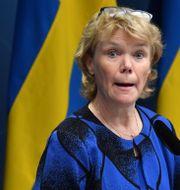 Harriet Wallberg. Jonas Ekströmer/TT / TT NYHETSBYRÅN