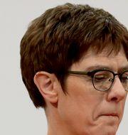 Annegret Kramp-Karrenbauer. Michael Sohn / TT NYHETSBYRÅN