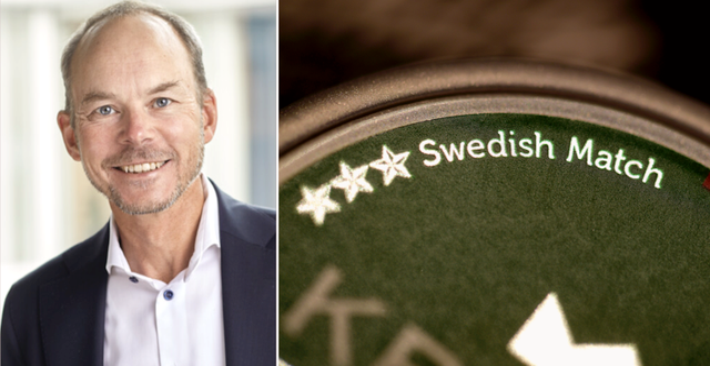Lars Dahlgren.  Swedish Match/TT