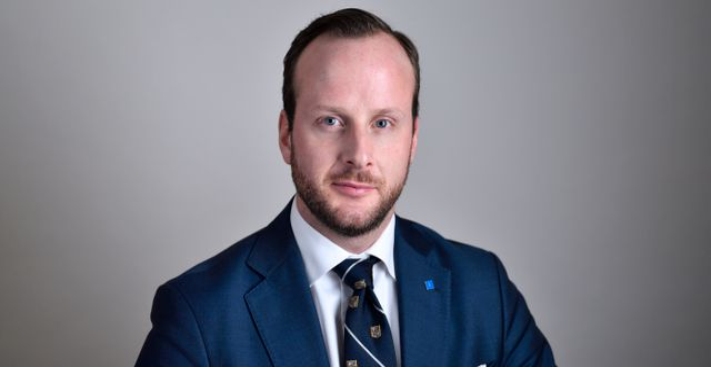 KD:s Christian Carlsson.  Henrik Montgomery/TT / TT NYHETSBYRÅN