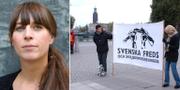 Karin Wall Härdfeldt. Svenska freds/TT