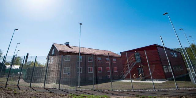Exteriörbild på Migrationsverkets förvar i Ljungbyhed. Johan Nilsson/TT / TT NYHETSBYRÅN