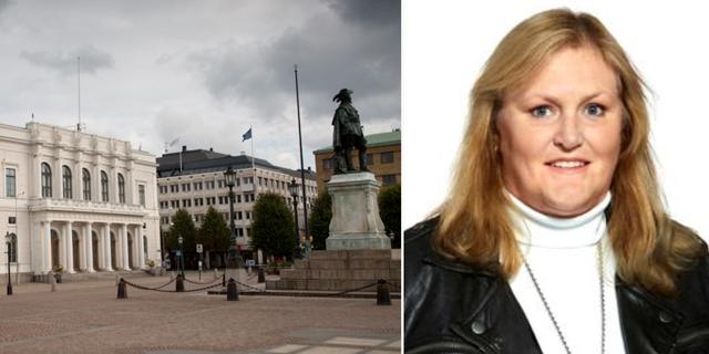 Maria Rydén (M), tidigare kommunalråd i Göteborg. TT/Göteborgs stad