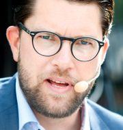 Jimmie Åkesson (SD).  Mats Andersson / TT / TT NYHETSBYRÅN