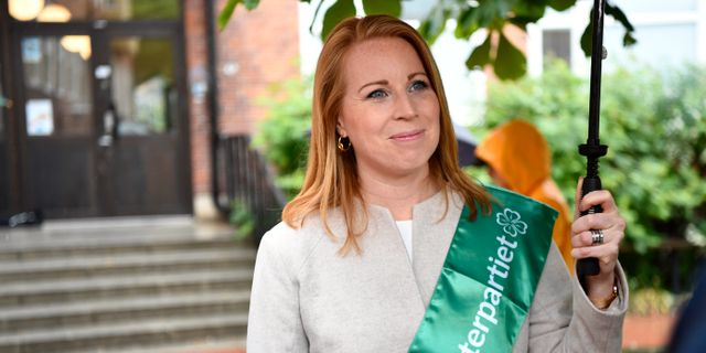 Annie Lööf, Centerpartiets ledare. Erik Simander/TT / TT NYHETSBYRÅN