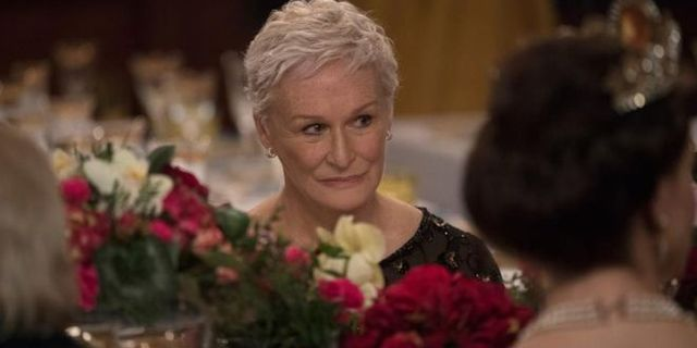 Glenn Close i The Wife.