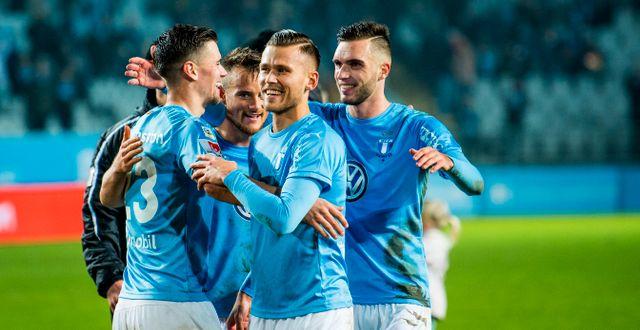 Malmö FF.  CHRISTIAN  RNBERG / BILDBYR N